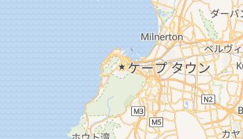 ケープタウン の地図
