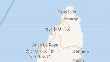カストリーズ の地図