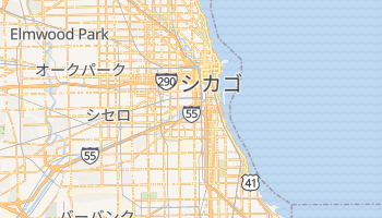 シカゴ の地図