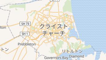 クライストチャーチ の地図