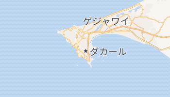 ダカール の地図