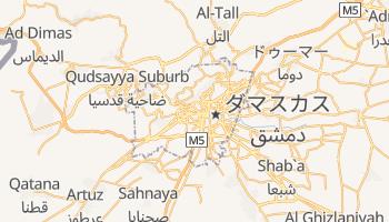 ダマスカス の地図