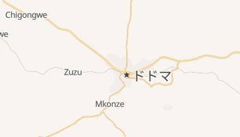 ドドマ の地図