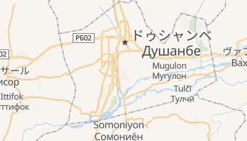 ドゥシャンベ の地図