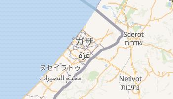 ガザ の地図