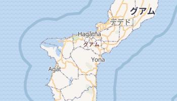 グアム の地図