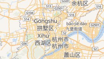 杭州市 の地図