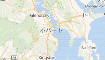 ホバート の地図