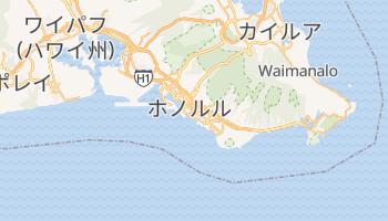 ホノルル の地図