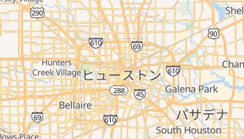ヒューストン の地図