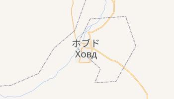 ホブト の地図