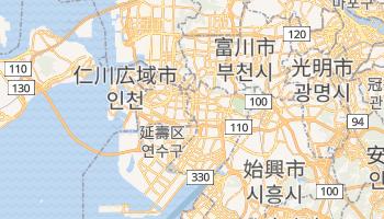 仁川広域市 の地図