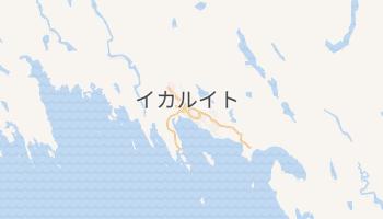 イカルイト の地図
