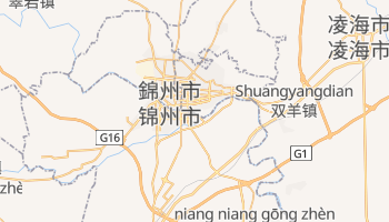 錦州 の地図