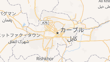 カブール の地図