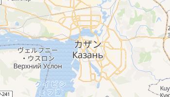 カザン の地図