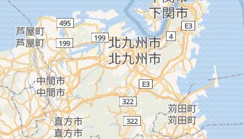 北九州市 の地図