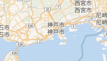 神戸市 の地図