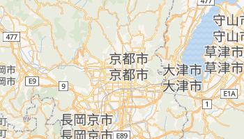 京都市 の地図