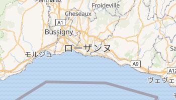 ローザンヌ の地図