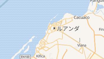 ルアンダ の地図