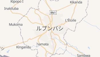 ルブンバシ の地図