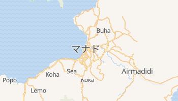 マナド の地図