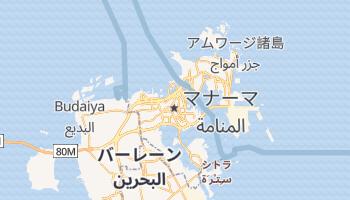 マナーマ の地図