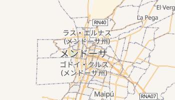 メンドーサ の地図