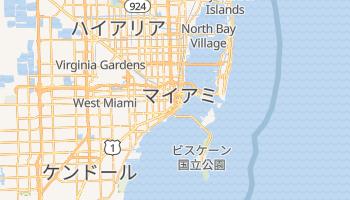 マイアミ の地図