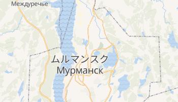 ムルマンスク の地図