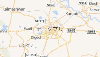 ナーグプル の地図
