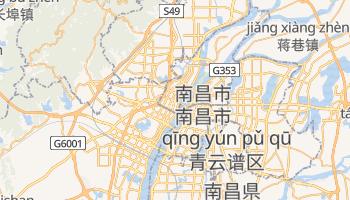 南昌 の地図