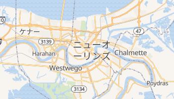 ニューオーリンズ の地図