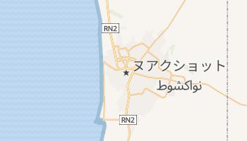 ヌアクショット の地図