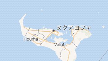 ヌクアロファ の地図