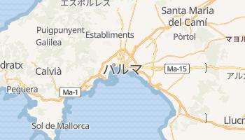 パルマ・デ・マリョルカ の地図