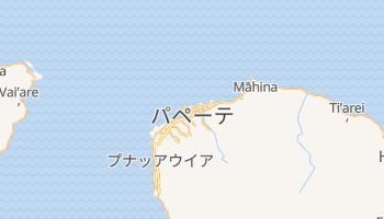 パペーテ の地図