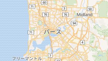 パース の地図
