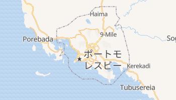 ポートモレスビー の地図