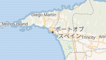 ポートオブスペイン の地図