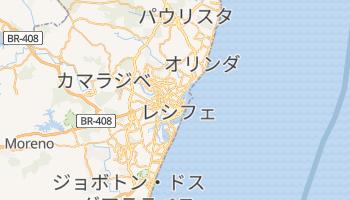 レシフェ の地図