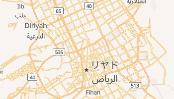 リヤド の地図