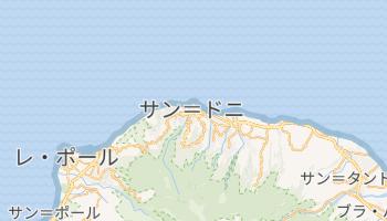 聖者デニス の地図