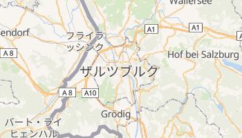 ザルツブルク の地図