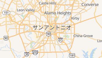 サンアントニオ の地図