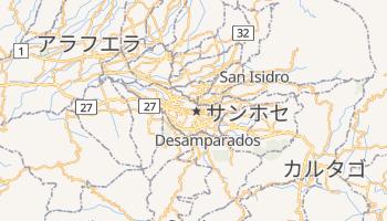 サンノゼ の地図