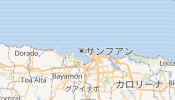 サンファン の地図