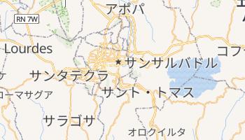 サンサルバドル の地図
