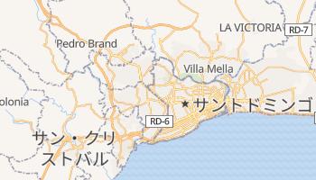 サントドミンゴ の地図